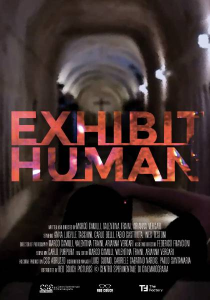 Red Couch - Exhibit human