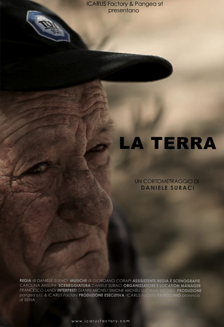POSTER - La terra - Daniele Suraci - Red Couch Pictures